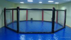 Восьмиугольный ринг, диаметр 9.7м без помоста.