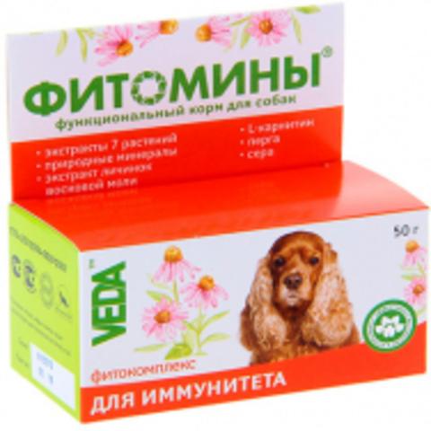 Фитомины Фитокомплекс для иммунитета д/соб 50 г