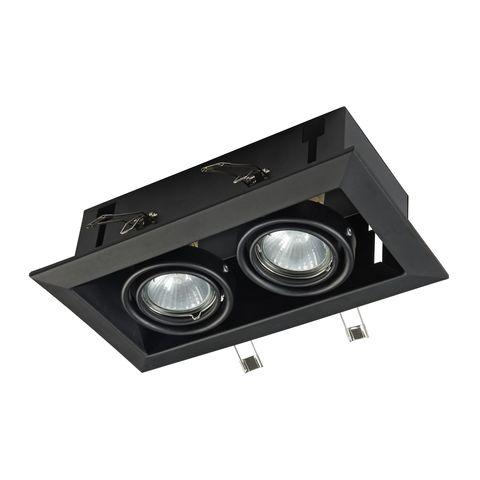 Встраиваемый светильник Maytoni Metal Modern DL008-2-02-B