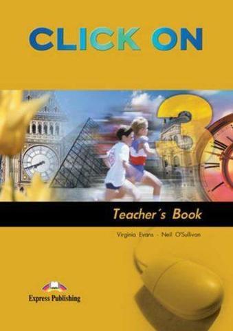 Click On 3. Teacher's Book. (interleaved). Pre-Intermediate. (New). Книга для учителя