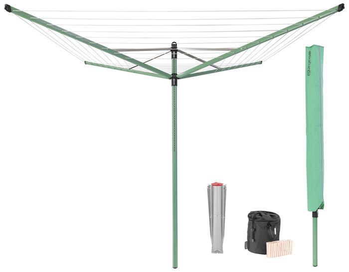 Уличная сушилка Lift-O-Matic (50 м навески), с чехлом, мешком для прищепок, прищепками, арт. 290527 - фото 1