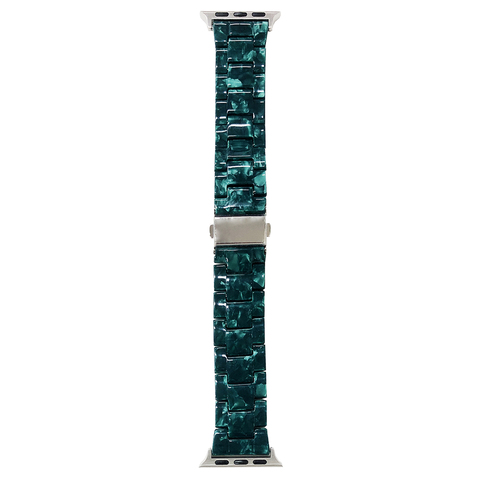 Ремешок Apple watch 38mm Resin band /green/