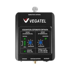 Готовый комплект усиления сотовой связи VEGATEL VT-1800-kit (LED)