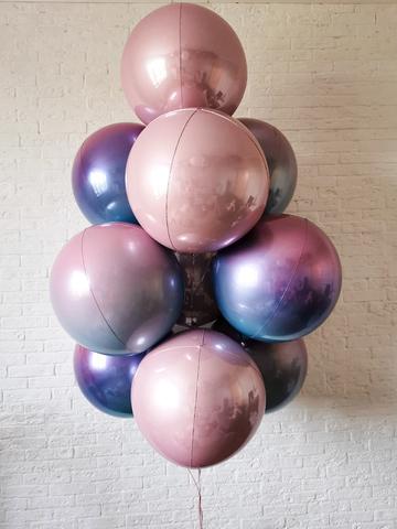 Букет из больших шаров