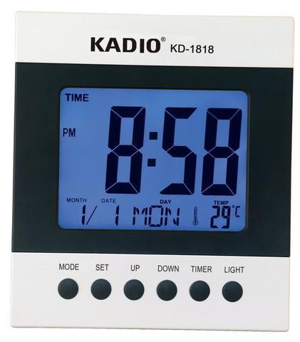 Часы электронные настольные KD-1818