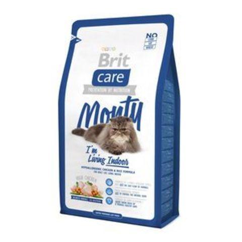2714 Brit Care Cat Indoor Monty д/кошек, Живущих в помещении 7кг