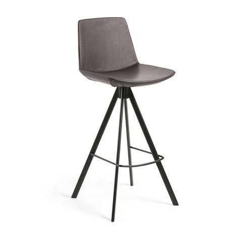 Барный стул Zast темно-коричневый