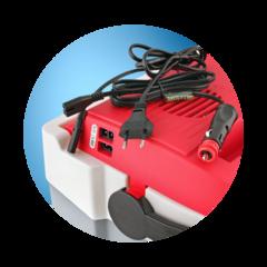 Купить термоэлектрический автохолодильник 12в и 220в Ezetil E28 (12V/230V)