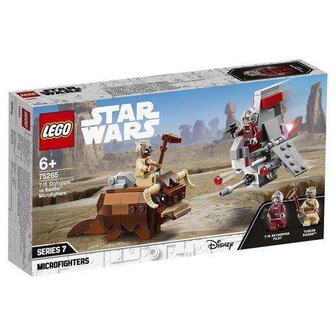 LEGO Star Wars: Микрофайтеры: Скайхоппер T-16 против Банты 75265 — T-16 Skyhopper vs Bantha Microfighters — Лего Звездные войны Стар Ворз