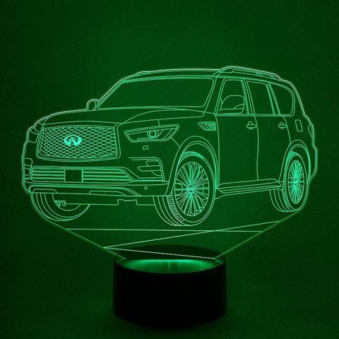 Автомобиль Infiniti_QX80 (Инфинити)