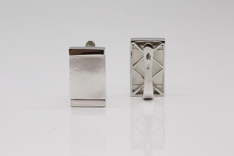 Серьги из серебра с перламутром 2/20 СИ-Е4861