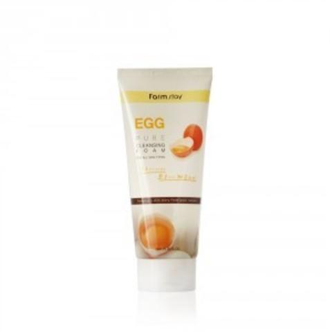 Пенка очищающая с яичным экстрактом FarmStay EGG Pure Cleansing Foam 180 мл