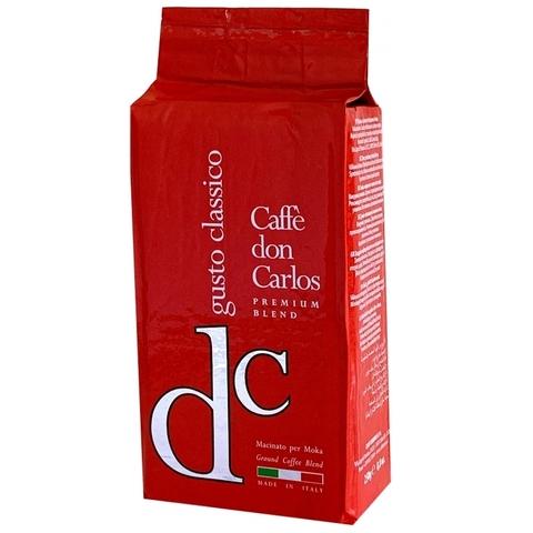 Carraro Don Carlos Gusto Classico 250г. молотый кофе