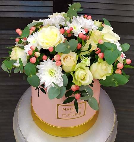 Цветы в  коробке #17767