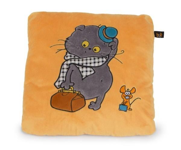 Подушка Кот Басик путешественник