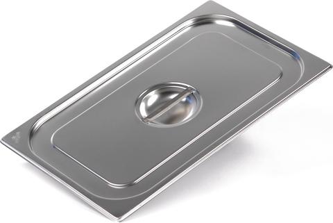 Крышка Luxstahl из нержавеющей стали для GN 1/1