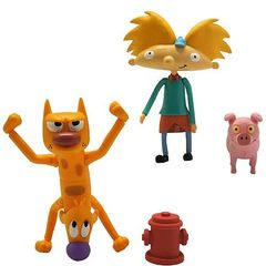 Nicktoons 3-Inch Action Figure with Accessories Case