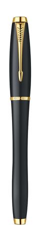 Перьевая ручка Parker Urban F200, цвет: Muted Black GT, перо: F123