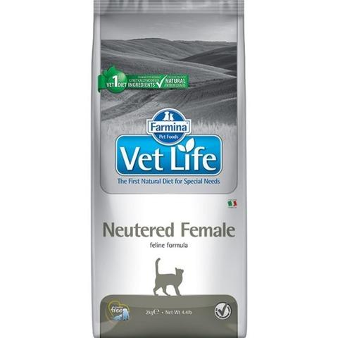 Farmina Vet Life  Cat Neutered Female для стерилизованных кошек 10 кг