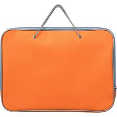 Папка-портфель Attache нейлоновая А4 оранжевая (340x260 мм, 1 отделение)