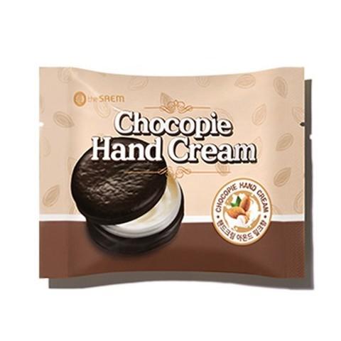 The Saem Chocopie Hand Cream Almond Milk крем для рук с молочными протеинами