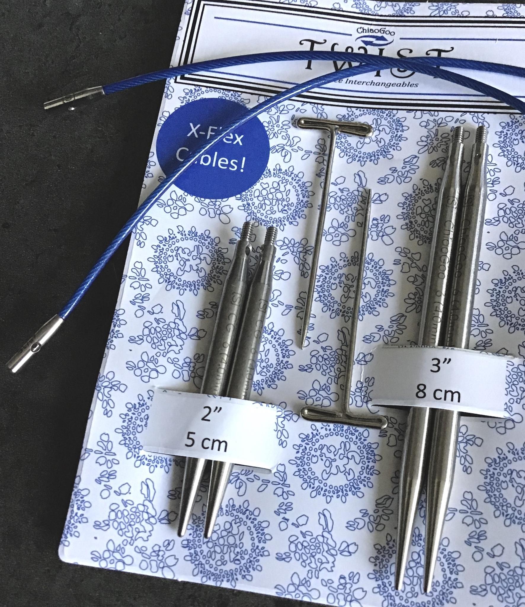 7123-6 Комбо-набор с укороченными спицами ChiaoGoo