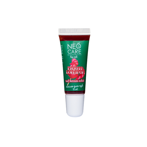 Масло для губ LIQUID LOLLIPOP red berries eclat, 10 мл