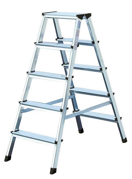 MONTO Лестница-стремянка двухсторон- няя Dopplo®  2 х 5 ступенек