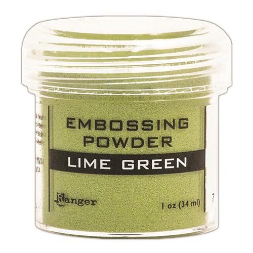 Пудра для эмбоссинга Ranger Ink- LIME GREEN