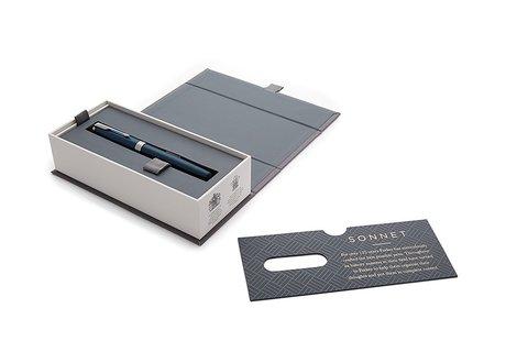Ручка-роллер Parker Sonnet Subtle Blue Lacquer CT123