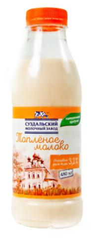 Молоко Суздальское 3.2% (Пастер) бут ИП