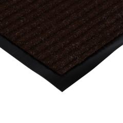 Коврик влаговпитывающий, ребристый, коричневый, 50*80 см