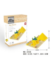 Конструктор Wisehawk & LNO Сфинкс и пирамида Египет 242 деталей NO. 3438 Sphinx and Pyramid Gift Series