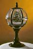 Новогоднее украшение Снежная лампа BigSanta Green