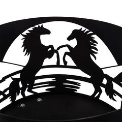 Жаровня стационарная «Кони» диаметр 45 см
