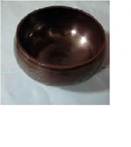 Чаша  карвинг лечебная 9 металлов d-9.5см 290г
