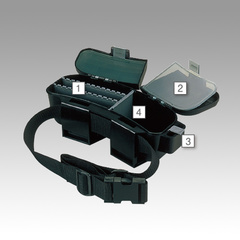 Коробка под приманки на пояс MEIHO VS-5010 (WAIST305)  BLACK