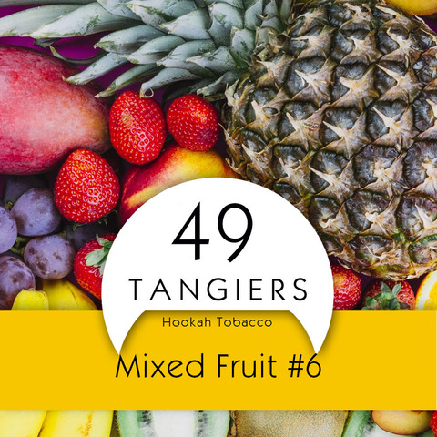 Табак Tangiers 100 г Noir Mixed Fruit #6