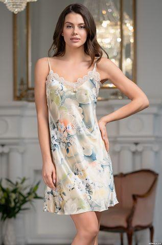 Короткая ночная сорочка из шелка Mia Amore Лучиана (70% нат.шелк
