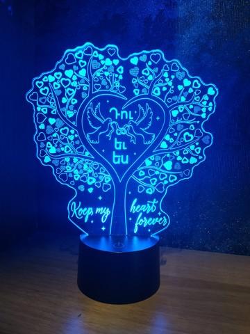 Дерево любви (Ваш текст)