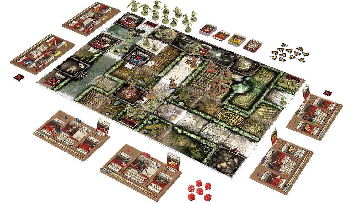 Настольная игра Зомбицид. Зелёная орда