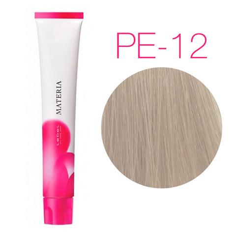 Lebel Materia 3D Pe-12 (супер блондин перламутровый) - Перманентная низкоаммичная краска для волос