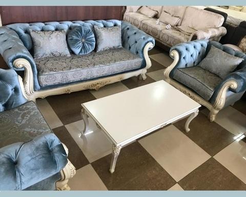Набор мягкой мебели  АССОЛЬ крем / бирюза