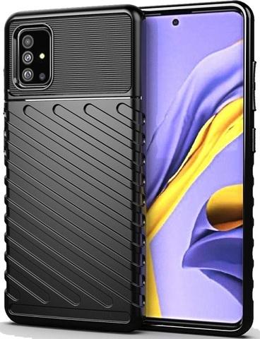 Чехол для Samsung Galaxy A51 (M40S) цвет Black (черный), серия Onyx от Caseport