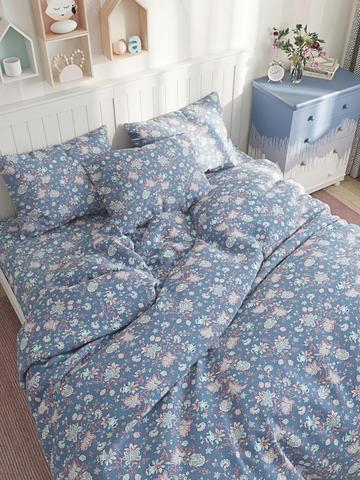Простынь  -Фантазия- 150х215 см 1,5-спальная