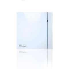 Вентилятор накладной S&P Silent 100 CHZ Design (датчик влажности)
