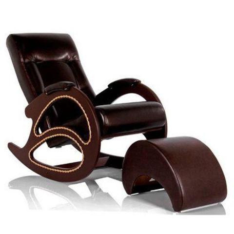 Банкетка для ног Dondolo (Oregon Perlam-120 Модель-42) темно-коричневый