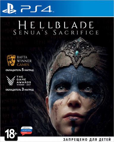 Hellblade: Senua's Sacrifice (PS4, русская версия)