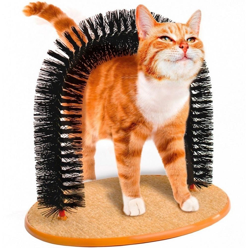 Товары на Маркете Когтеточка для кошек «Кошачье удовольствие» со щеткой TD_0301-2.jpg