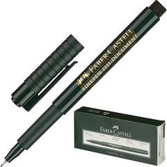 Линер Faber-Castell Finepen 1511 черный (толщина линии 0.4 мм)